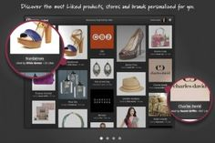 Pinterest rival Glimpse focuses on likes Facebook already has and ties into your friends. More sales focused.