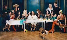 Elisabth Ohlsen Watson's rendition of The Last Supper