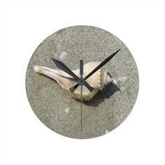Seashell Clocks