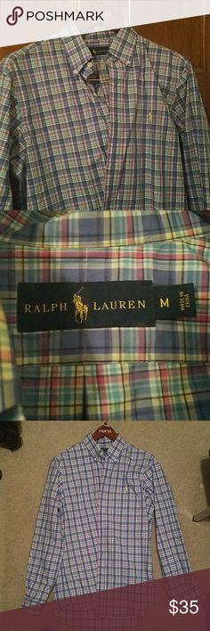 Ralph Lauren shirt Ralph Lauren dress shirt. worn once. medium size. Great color ! Ralph Lauren Shirts Dress Shirts