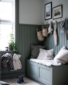 Decorating Your Home, Diy Home Decor, Interior And Exterior, Interior Design, Hallway Storage, The Design Files, Small Room Bedroom, Eclectic Decor, My Dream Home
