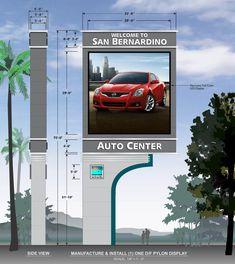 San Jose Getting Massive Digital Signs Pylon Signage, Signage Light, Directional Signage, Outdoor Signage, Wayfinding Signage, Signage Board, Park Signage, Shop Signage, Signage Design