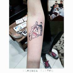 Faceless Family Tattoo on the arm http://instagram.com/karincatattoo #faceless #tattoo #arm #tattoos #family #design #tattooed #tattoos #inked #dövme #dovmeci #istanbul #kadıköy #acıbadem #fineline #minimaltattoo #küçük