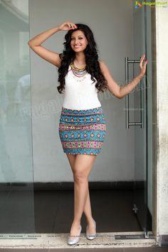 Stunning Glam Shots of Hamsa Nandini Short Skirts, Mini Skirts, Hamsa Nandini, Fashion Wear, Womens Fashion, Women Legs, Rock, Actress Photos, Shorts