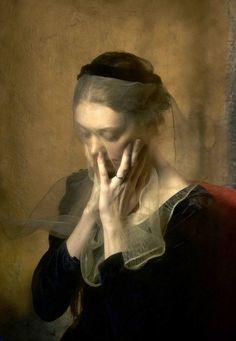 Veils the shadow of days ☁️ art figurative portrait Renaissance Kunst, Illustration Art, Illustrations, Portraits, Classical Art, Figure Painting, Painting Art, Beautiful Paintings, Oeuvre D'art
