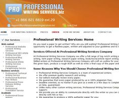 top report writers services for university