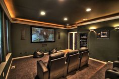 Tv Media Room Lighting Google Search