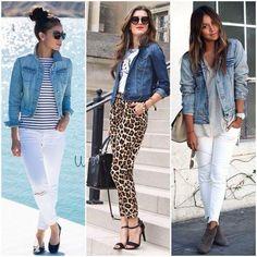 As eternas Jaquetas Jeans estão com tudo no inverno 2015!