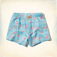 Guys Hollister Flamingo Boxers | Guys Underwear & Socks | HollisterCo.com