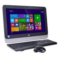 HP 20-r013w 19.5 Celeron N3050 Dual-Core 1.6GHz All-in-One PC - 4GB 500GB DVD±RW/W8.1/Webcam /WiFi-N - B