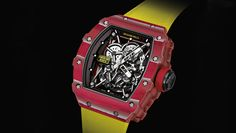 """We take a look at three new amazing Richard Mille pieces, from the """"Rafael Nadal"""" and """"Bubba Watson"""" ranges. Details and retail prices revealed. Richard Mille, Sport Watches, Cool Watches, Watches For Men, Wrist Watches, Fine Watches, Luxury Watches, Rolex Watches, Rafael Nadal Watch"""
