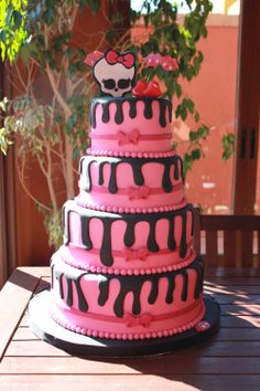 Monster High Cakes fall 2013 | Monster High - Sweet nine