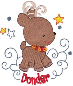 Bunnycup Embroidery | Free Machine Embroidery Designs | Santas Sleigh