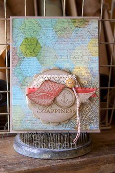 Hot Trend-Maps! This and That Epic Day DSP, By the Tide stamp set.  Kimberly Van Diepen, Stampin Up!
