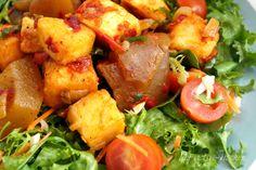 Ponmo Salad — My Active Kitchen-Ponmo Salad