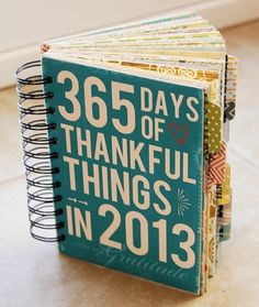 365 Days of Thankful Things