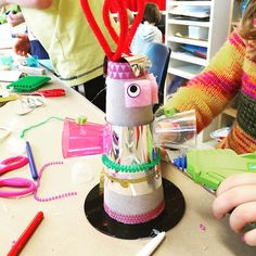 Making monsters.              Gloucestershire Resource Centre http://www.grcltd.org/scrapstore/