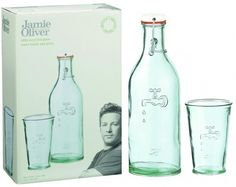 Jamie Oliver Recycled Bottle & Glass Tap Set