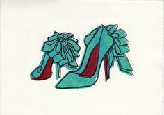 Christian Louboutin Illustration