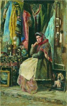 Antique Shop - Konstantin Makovsky, 245/366.