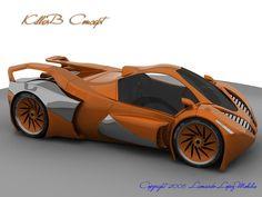 KillerB Concept Car by lambo.deviantart.com on @deviantART