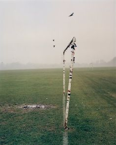 From August 2014, photographer Simon Di Principe went to Hackney Marshes every Sunday for the next nine months. A couple of months into the project, he found himself immersed in a series of photographed that depicted the Marshes as a footballing league of nations - local teams, African teams, Eastern European teams, West Indian teams, and so on. FOOTBALL 143