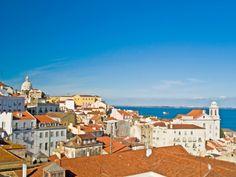 6 Nt Lisbon & Porto Getaway w/Flights from - Simply Holiday Deals Portugal Flights, Lisbon Portugal, Best Holiday Deals, Holiday Ideas, Best Flight Deals, Paris Skyline, Mansions, Travel, Porto