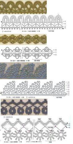 Crochet edges