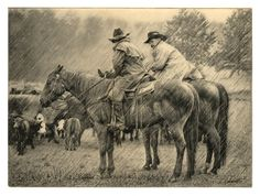 I love this artist. Bob Coronato. I own two of his etchings.