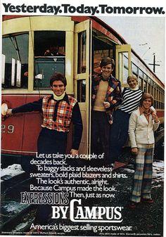 Men's Fashion 1974
