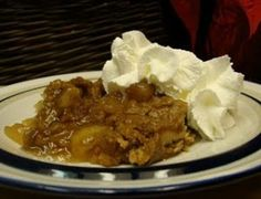 Apple Spice Dump Cake Recipe
