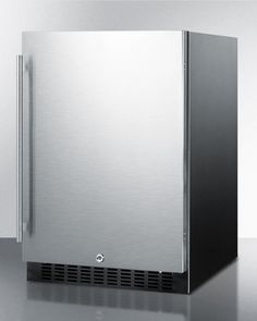 the new premium outdoor rated stainless steel fridge series ii is