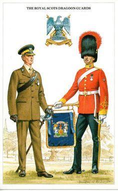 Image result for scots guards uniform