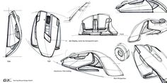 Sketches we like / Pencil Sketch / outlines / Gaming Mouse / at plllus