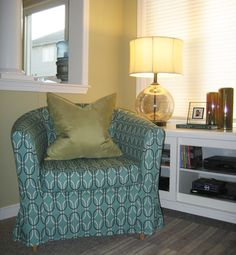 @tonicliving Does A Slipcover For The @ikeacanada Ektorp Tullsta Chair In  Our Stanford Teal