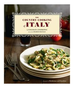 Love this The Country Cooking of Italy Hardcover by Chronicle Books on #zulily! #zulilyfinds