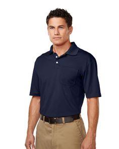 Short Sleeve Pique Polo Mens (100% Polyester) Tri mountain K158P #poloShirt  #Trimountain #casual
