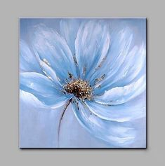 Big Size Hand-Painted Flowers Modern Art One Panel Canvas Oil Painting for Home . - Big Size Hand-Painted Flowers Modern Art One Panel Canvas Oil Painting for Home . Acrylic Painting Flowers, Acrylic Art, Oil Painting On Canvas, Painting Prints, Watercolor Paintings, Painted Flowers, Painting Art, Modern Oil Painting, Oil Painting Easy