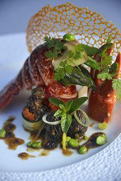 restaurant at the Grand Hotel de Cala Rossa & Spa in the Gulf of Porto Vecchio