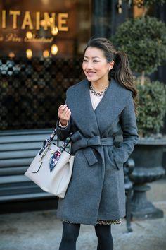 wrape drape shawl wool coat extra petite blog