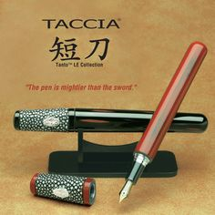 taccia tanto fountain pen. Taccia introduces the Tanto Limited Edition Collection, in honor of the Samurai in Japanese history – men of royalty, dignity, righteousness, diligence, sense of justice and responsibility.