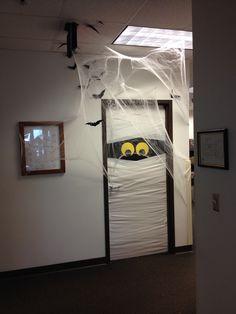 Halloween decoration at work!
