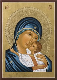 Most blessed Mother and precious Christ child Religious Icons, Religious Art, Church Icon, Religion, Russian Icons, Blessed Mother Mary, Biblical Art, Mary And Jesus, Byzantine Icons