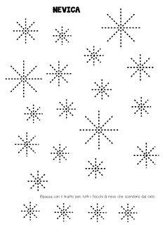 La maestra Linda: Inverno: pregrafismo Winter Activities For Kids, Math Activities, Winter Kids, Winter Art, Teaching Handwriting, Teacher Must Haves, Pre Writing, Dot Painting, Kids Cards