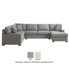 in by Bassett Furniture in New Bedford, MA - Chaise on Left Hancock U-Shaped Sectional U Shaped Couch, U Shaped Sectional, Living Room Sectional, Home Living Room, Sectional Sofas, Couches, Cheap Renovations, Up House, Home Decor Styles