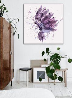 Wanddeko - Bild auf Leinwand - ein Designerstück von Ortons bei DaWanda Designer, Etsy, Home Decor, Wall Canvas, Decoration Home, Room Decor, Interior Decorating