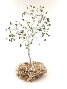 Large Magnesite Gem Tree of Life Wire by SpiritGemDesigns on Etsy