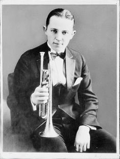 Bix Beiderbecke, an incredible musical talent. I think that I relate to him better than I do to any musician in history.