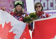 Dara Howell and Kim Lamarre win Gold and Bronze in women's ski slopestyle