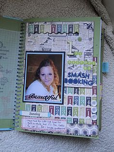 Cool Smash Book Page that can change each time you make it.